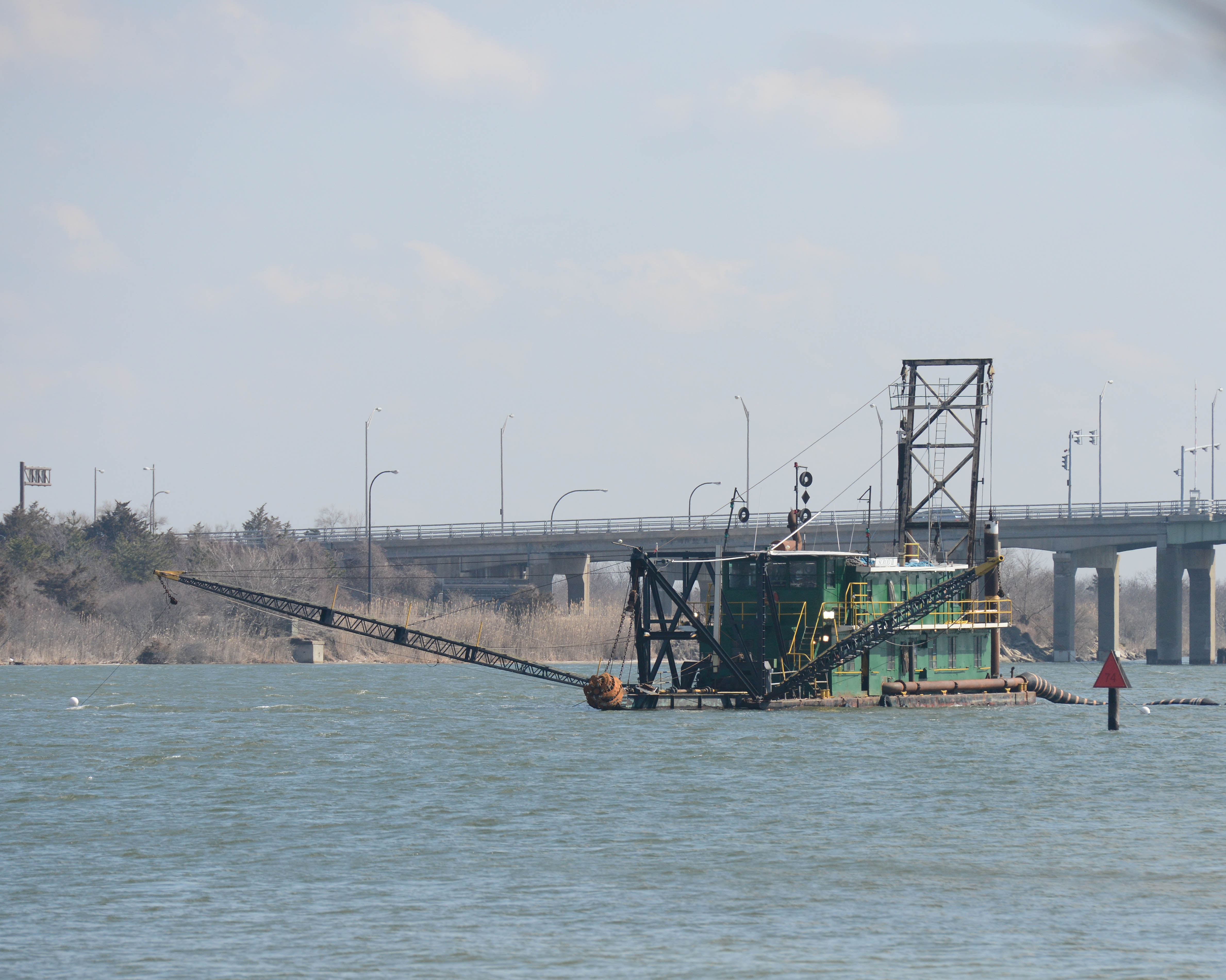photo of Dredging at Robert Moses State Park